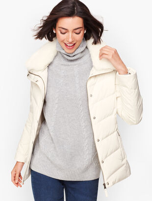 Short Down Puffer Jacket