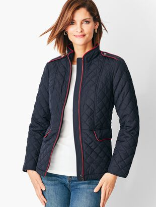 Quilted Military Coat