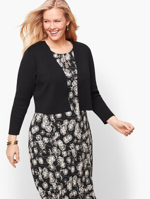 Plus Size Classic Dress Shrug