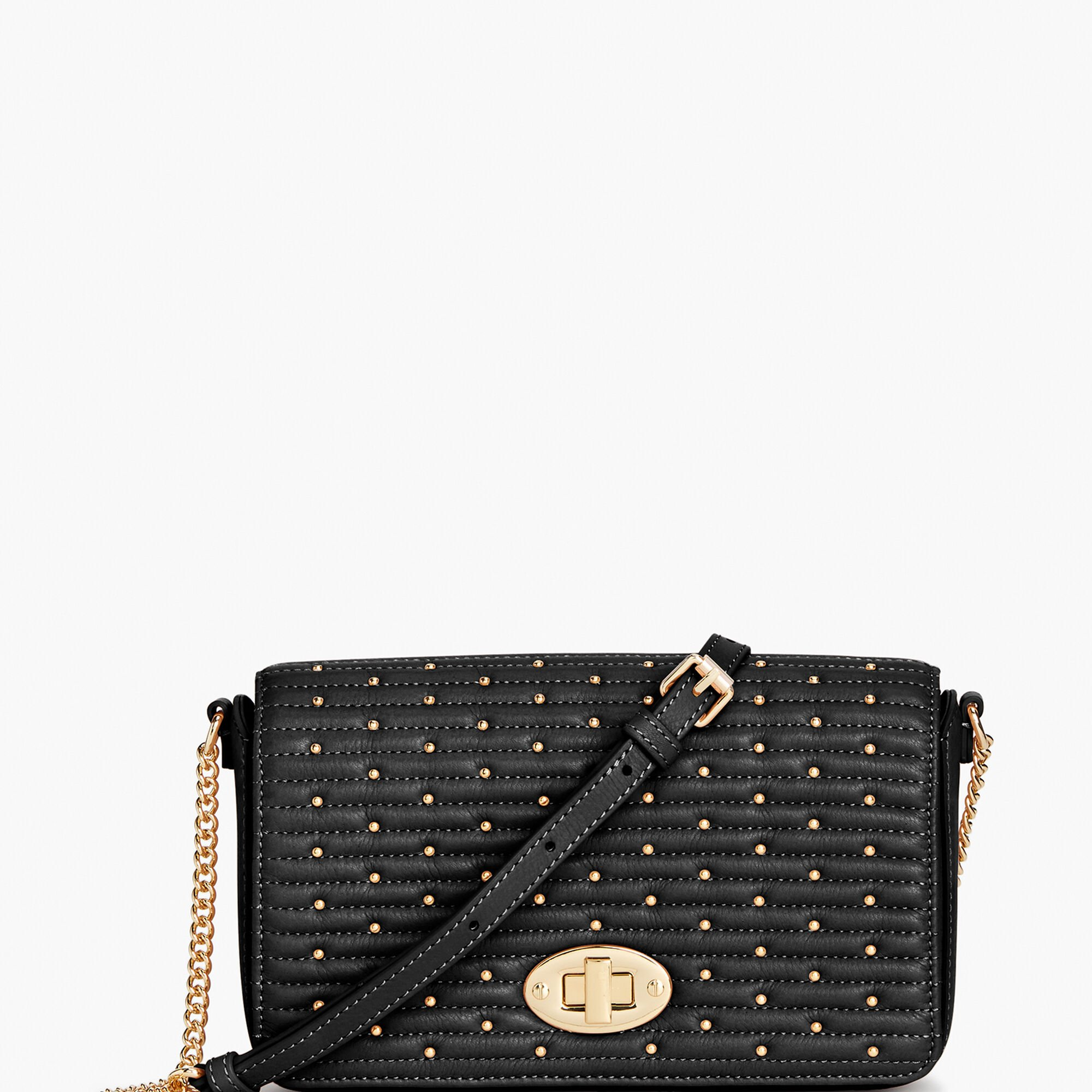 96b5187d361a Quilted Studded Leather Crossbody Bag Opens a New Window.