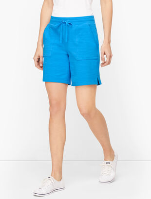 UPF 50+ Slub Terry Shorts - Colors