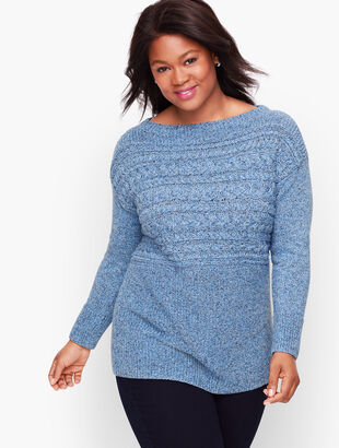 Horizontal Cable Sweater