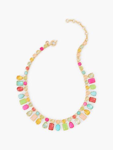Bright Gems Short Necklace