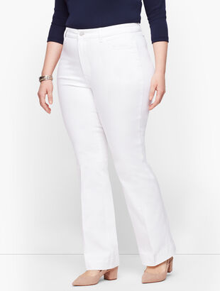 Flare Jeans - White