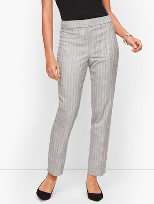 Westport Tweed Slim Ankle Pants