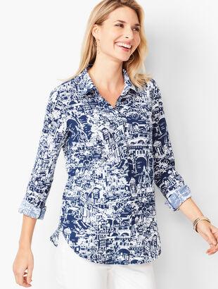 Classic Cotton Shirt - Scenic City