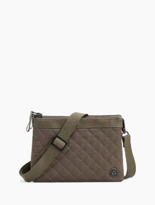 Quilted Nylon Crossbody Bag