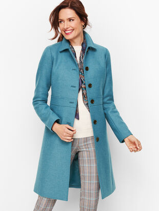 Italian Wool Lady Coat