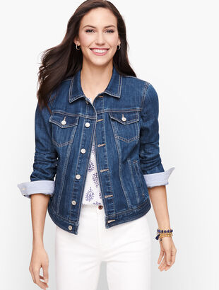Classic Jean Jacket - Stripe Lining Nora Wash