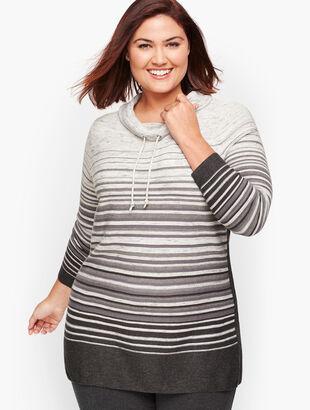 Gradient Stripe Pullover