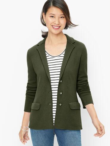 Merino Sweater Blazer