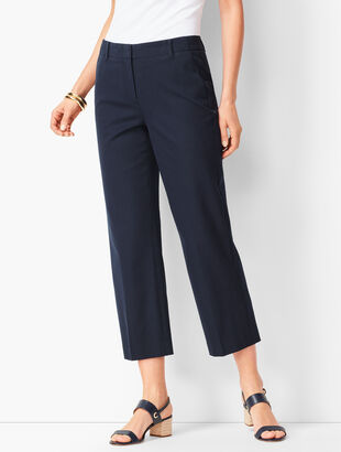 Bi-Stretch High-Waist Chelsea Crops