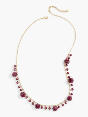 Faceted Bead Layer Necklace