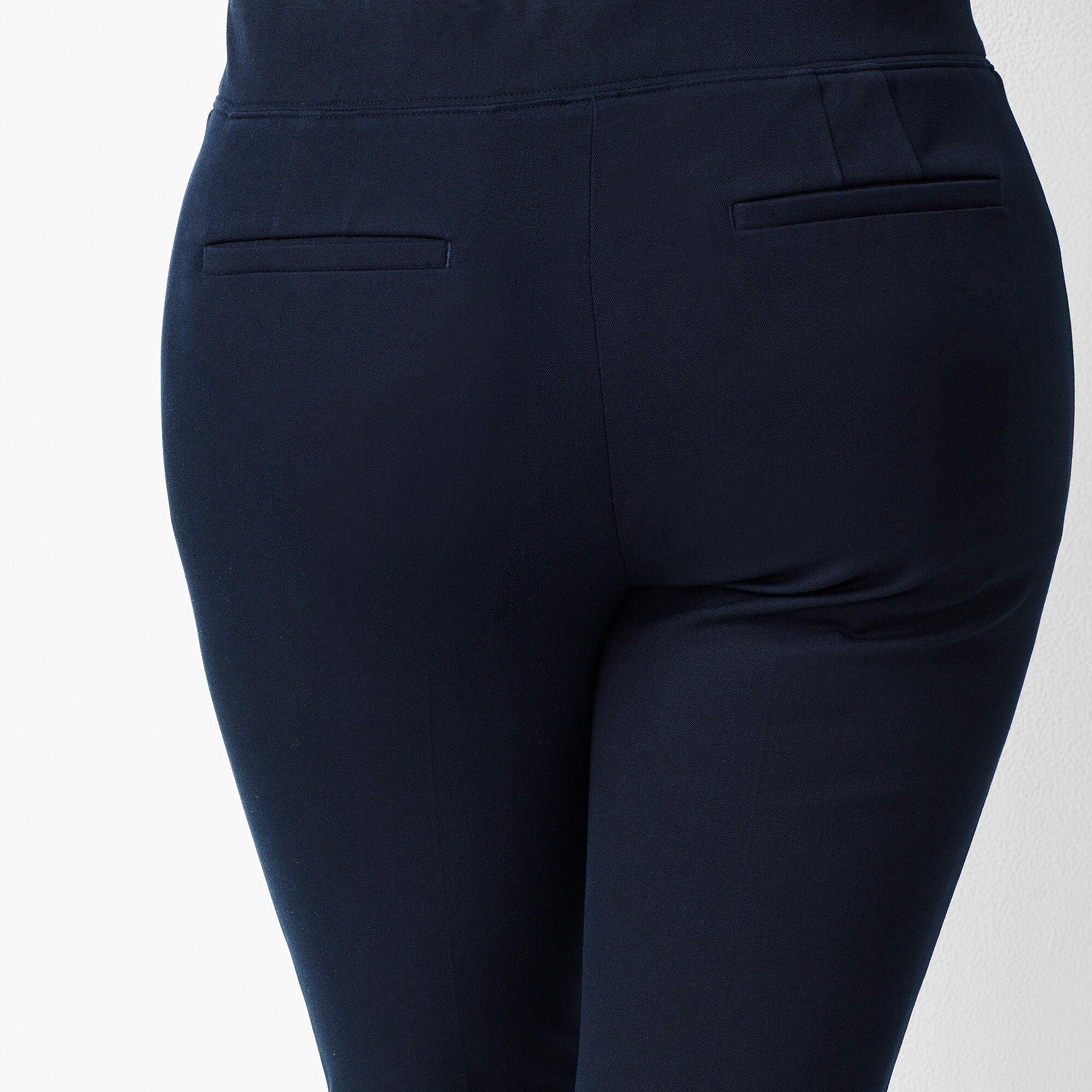 b0b47dbfd94 Bi-Stretch Pull-On Ankle Pants Opens a New Window.