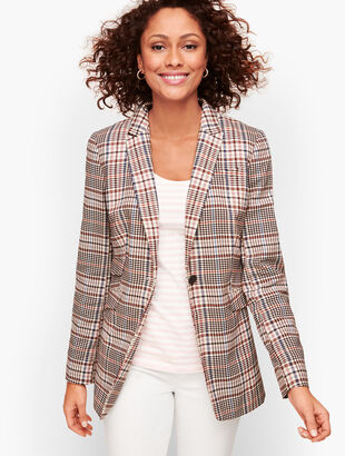 Friday Plaid Blazer