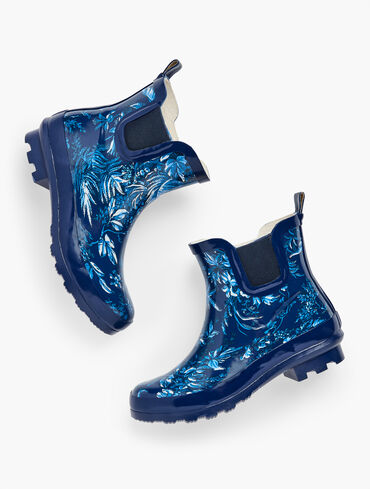 Riley Short Wellie Boots - Fall Toile