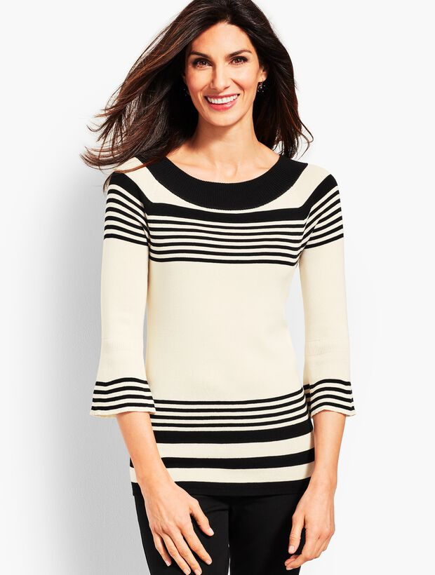 Melody Stripe Sweater