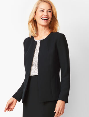 Seasonless Crepe Jacket
