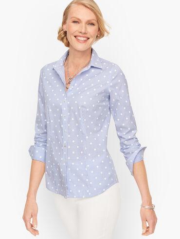 Perfect Shirt - Pretty Dot Stripe