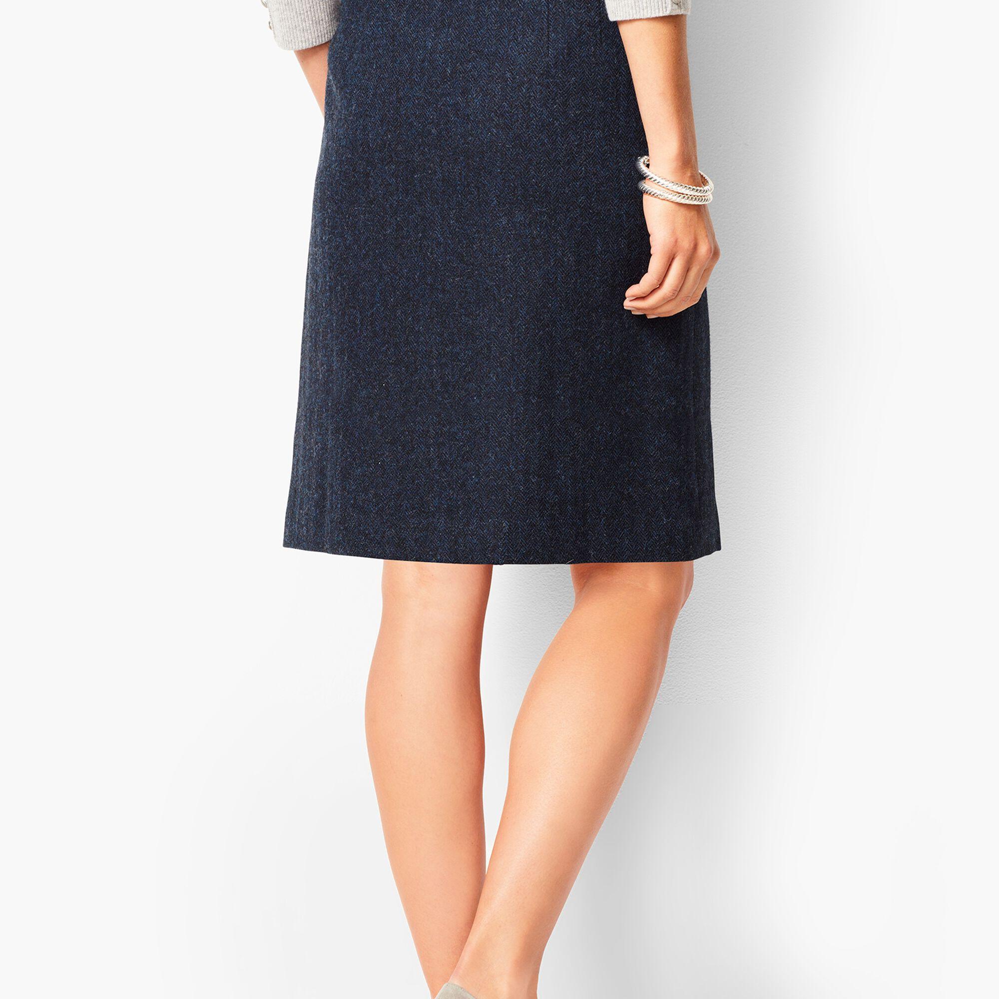 1521db6b5c9a0 Twill A-Line Skirt