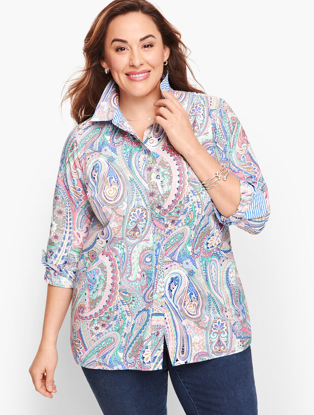 Classic Cotton Shirt - Jubilee Paisley