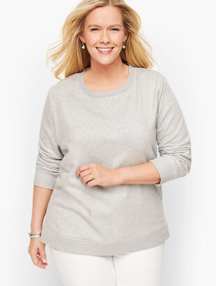 Heathered Sweatshirt - Foil