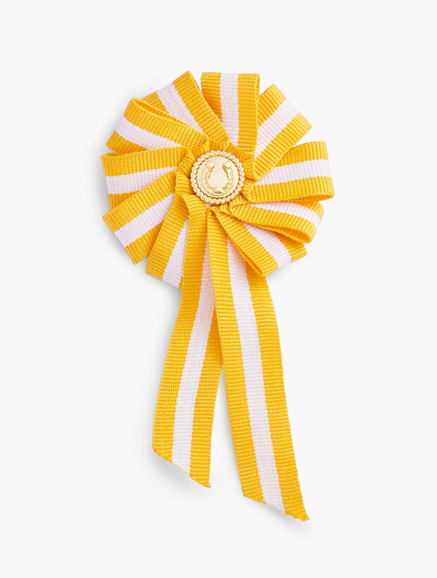 Equestrian Ribbon Brooch