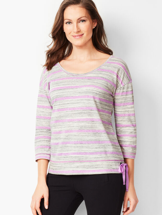 Lightweight Side-Tie Tee