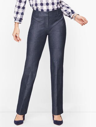Talbots Newport Pants - Curvy Fit -Polished Denim