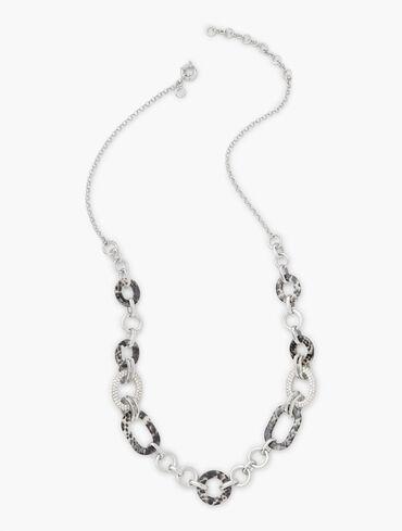 Snakeskin Long Necklace