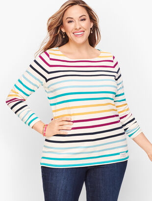 Authentic Talbots Tee - Bowen Stripe