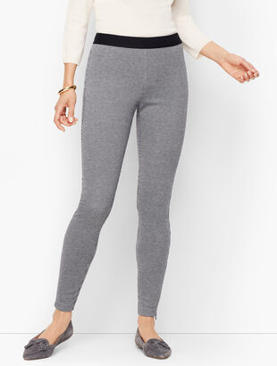 Talbots Soho Leggings - Check