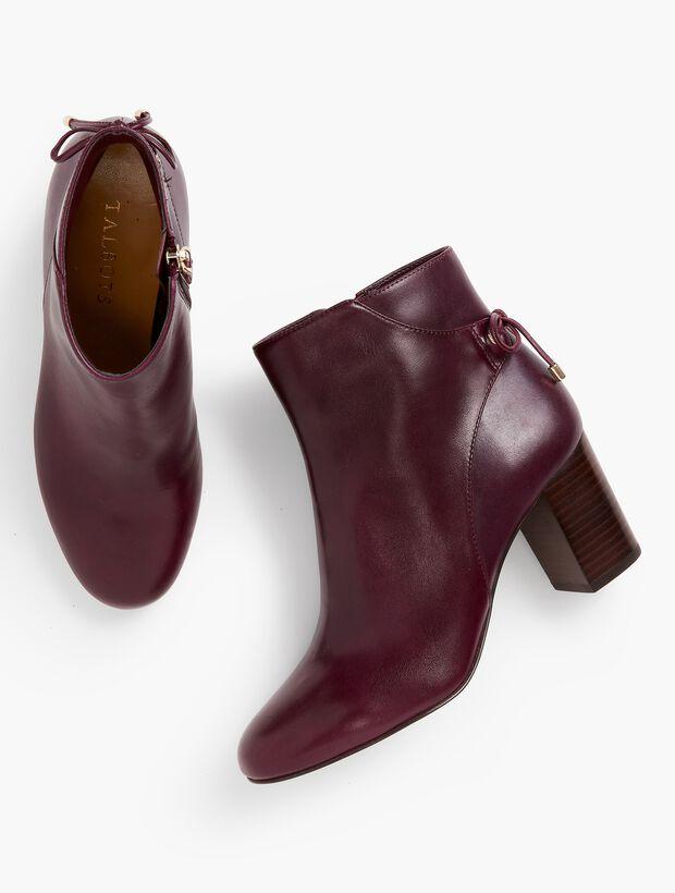 Lilia Block-Heel Ankle Boots