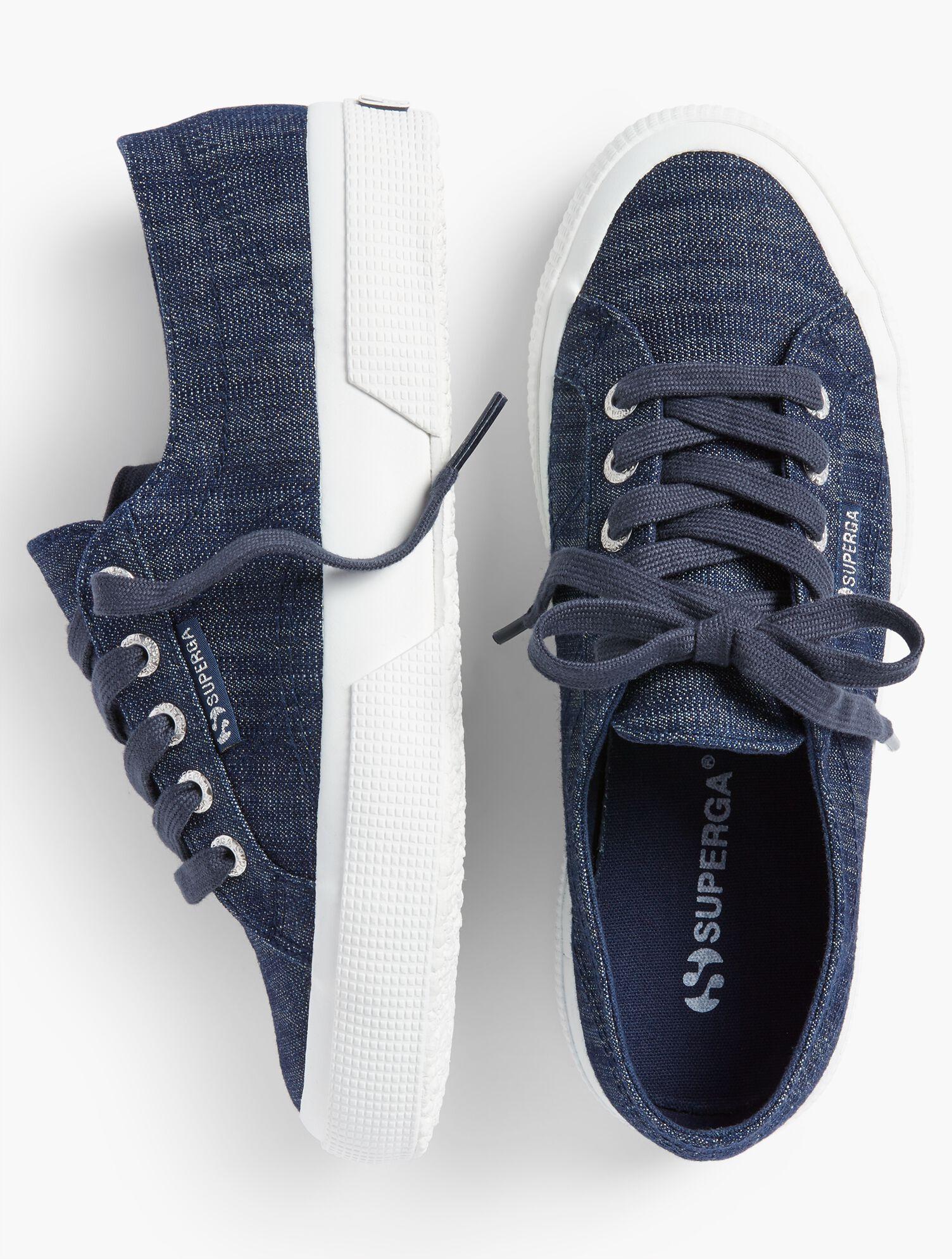 Superga(R) Sneakers - Denim | Talbots