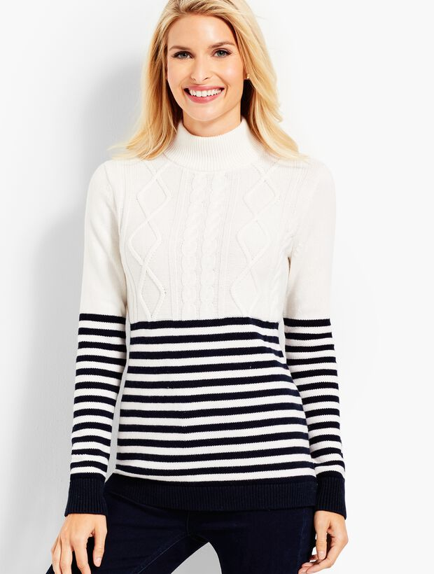 Fisherman Stripe Sweater