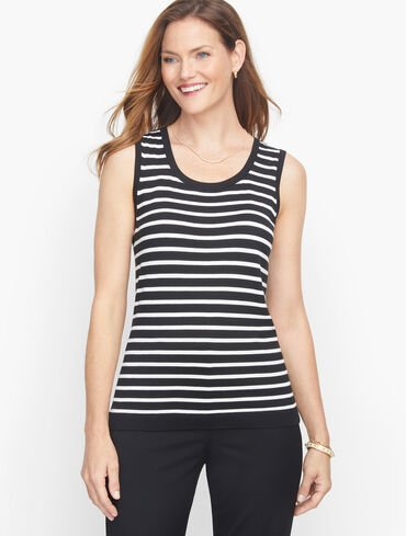 Charming Shell - Tipped Stripe