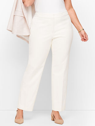 Plus Size Exclusive Biscay Straight Leg Pants