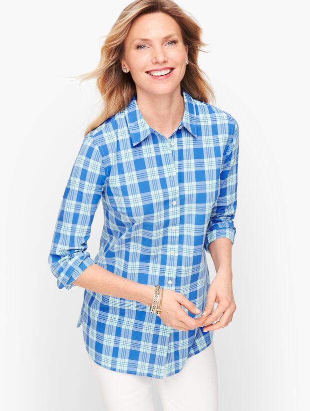 Classic Cotton Shirt - Plaid