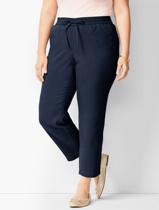 922220bc21200 Tencel  40 TM  41  Easy Ankle Pants