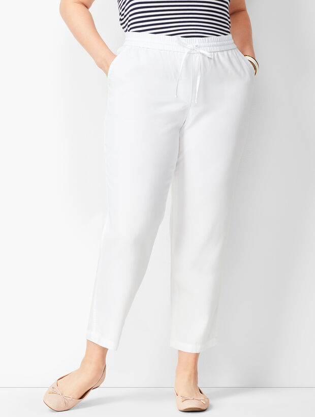 Tencel(TM) Easy Ankle Pants