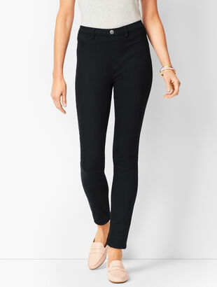 Pull-On Jeggings - Black