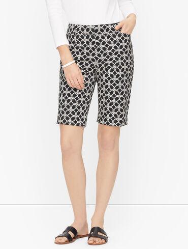 Perfect Shorts - Bermuda - Geo Pearl