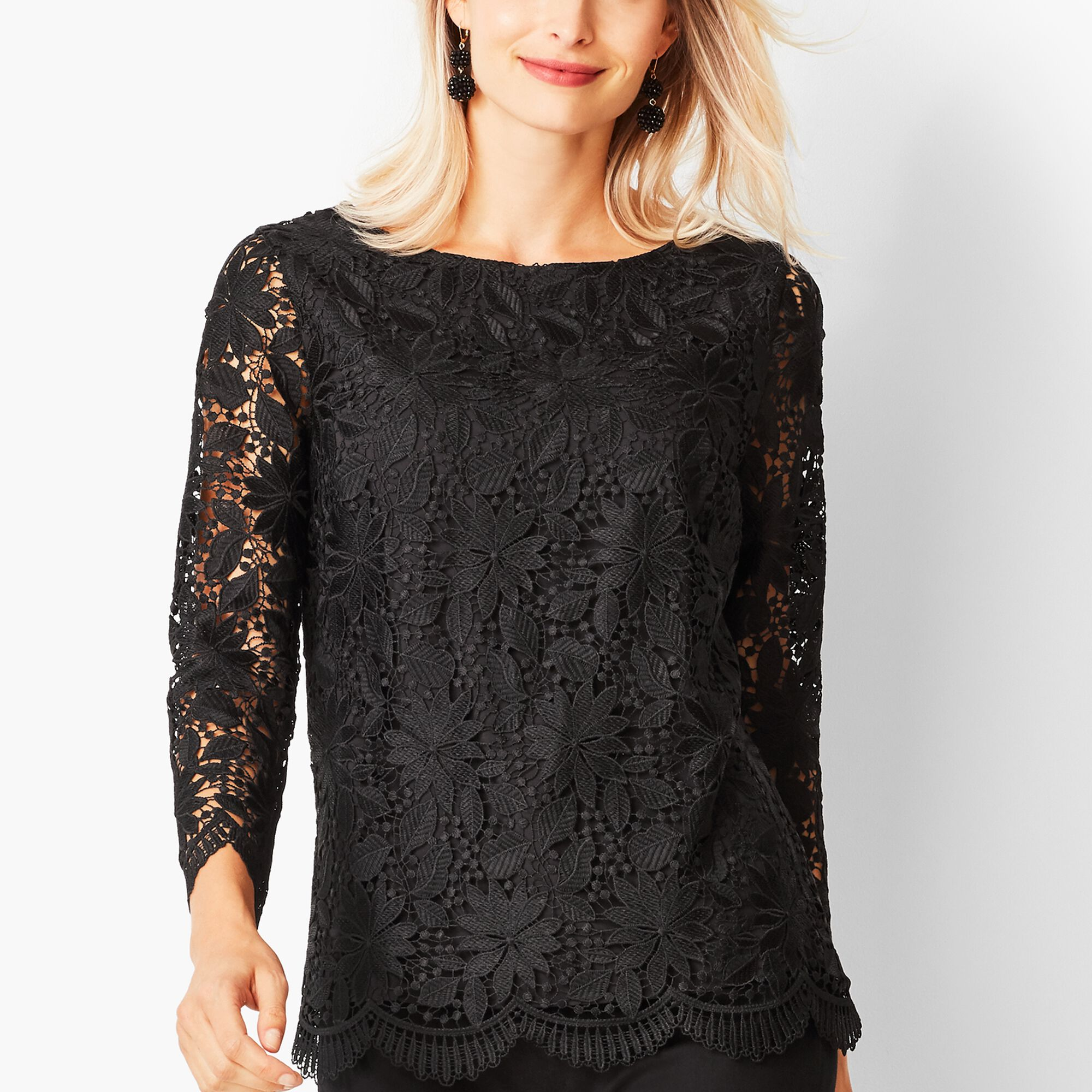 a7b0a22590ea1c Floral Lace Top Opens a New Window.