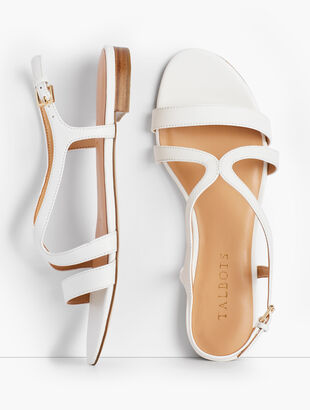 b0f2627cc534 Keri Strap Sandals - Nappa Leather
