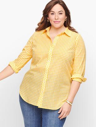 Classic Cotton Shirt - Basic Gingham