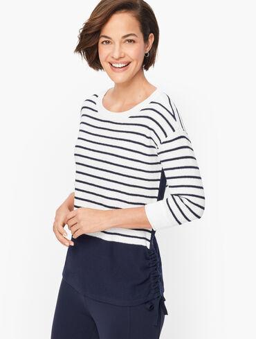 Striped COOLMAX® Sweater