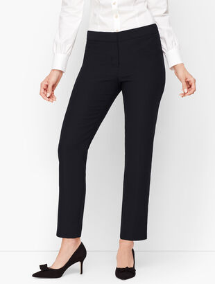 Seasonless Crepe Tailored Ankle Pants
