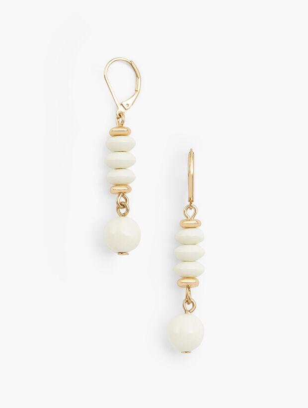 Ivory Drop Earrings
