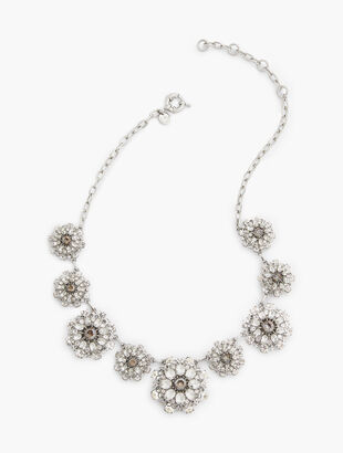 Crystal Clusters Necklace