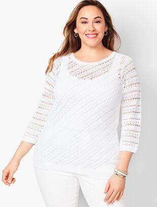 Hand-Crocheted Sweater